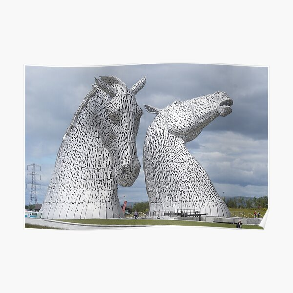 The Kelpies gifts , Helix Park, Scotland Poster