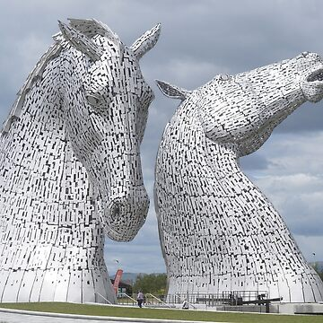 The Kelpies gifts , Helix Park, Scotland by goldyart