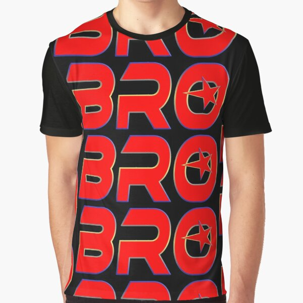 BRO - BROTHER Grafik T-Shirt