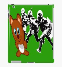 Riot Cops vs. Teddy Bear 2 | Riotshirt | Police Brutality iPad Case/Skin