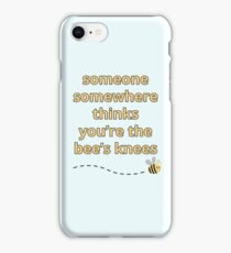 You're the Bee's Knees iPhone Case/Skin