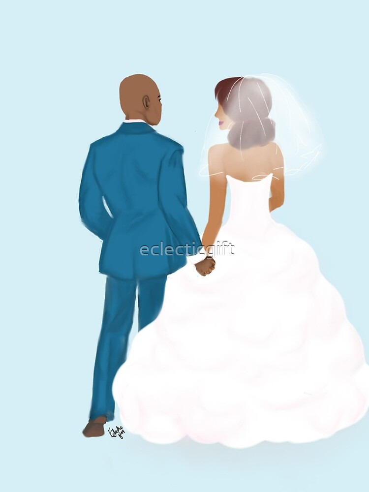 Just me and you - Wedding couple by eclecticgift