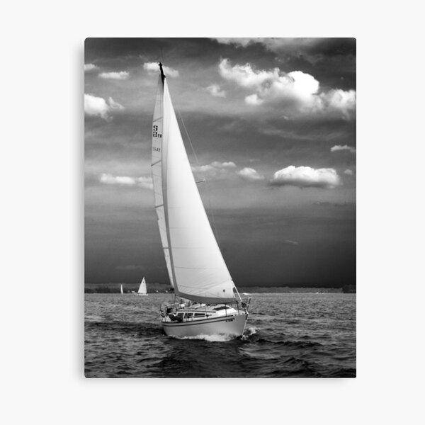 A Late Summer Sail Canvas Print