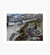 photoj  Bikers Art Art Print