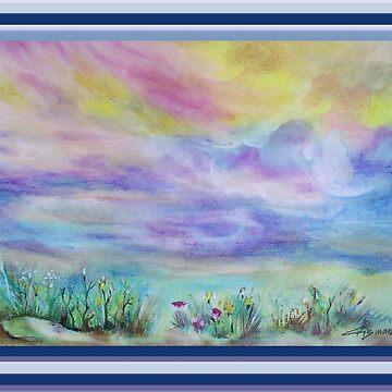 3742 Cloud Dance by CrismanArt