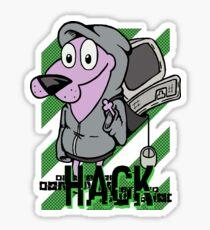 Dog Hack Sticker
