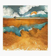 Desert River Photographic Print