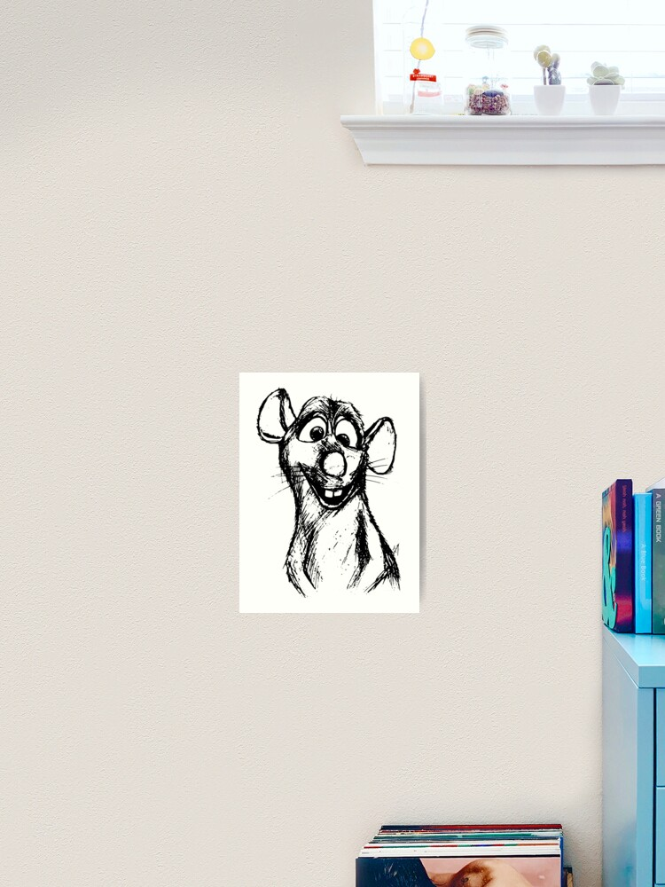 Ratatouille Remy Art Print By Yepvans Redbubble
