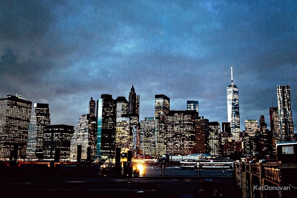 New York Skyline by KatDonovan