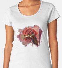 Roses love Women's Premium T-Shirt