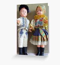 Dolls Greeting Card