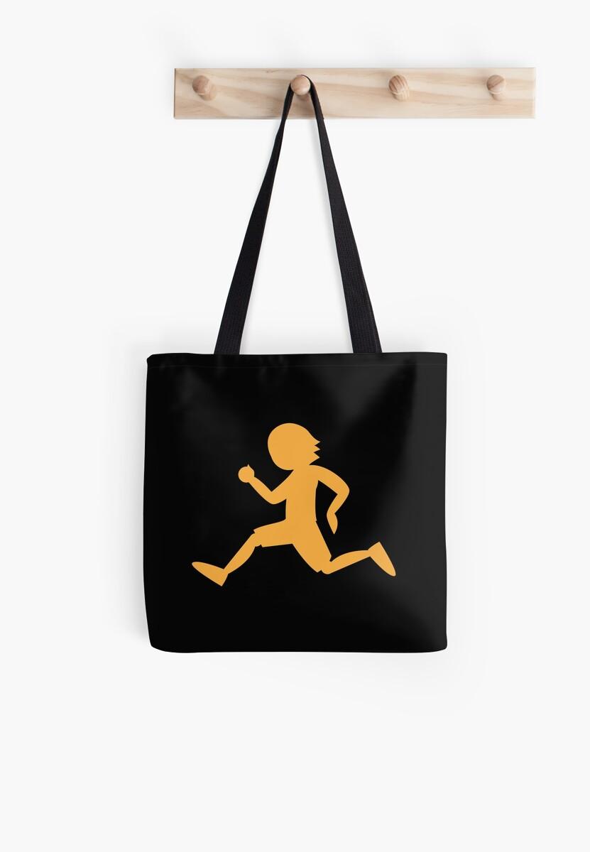 Runner running male shape by jazzydevil