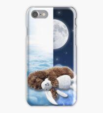 Puppy Dreaming Daytime to Nighttime iPhone Case/Skin