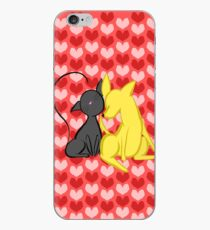 Kitten Scratches and Puppy Nuzzles iPhone Case