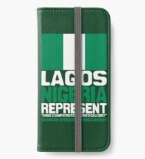 Lagos, Nigeria, represent iPhone Wallet/Case/Skin