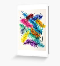 Birds of a feather flock together  Greeting Card
