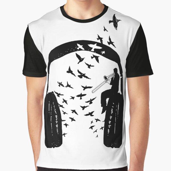 Headphone - Trombone Graphic T-Shirt