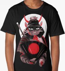Samurai Cat Long T-Shirt