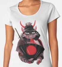 Samurai Cat Women's Premium T-Shirt