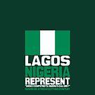 Lagos, Nigeria, represent by kaysha