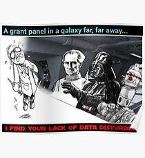 A far away grant panel Poster