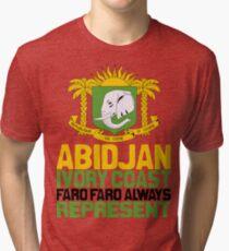 Abidjan, Ivory coast, faro faro Tri-blend T-Shirt