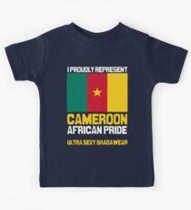 Cameroon, represent proudly Kids Tee