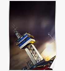 Control Tower Docklands Poster