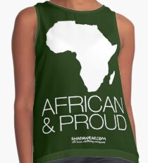 African & proud Contrast Tank