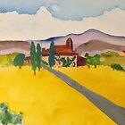 Road to Tuscany Home by Pamela Spiro Wagner