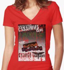 The Casanova Club Women's Fitted V-Neck T-Shirt