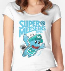 super Women's Fitted Scoop T-Shirt