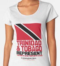 Trinidad & Tobago represent Women's Premium T-Shirt