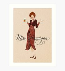 ANNIE - Miss Hannigan Art Print