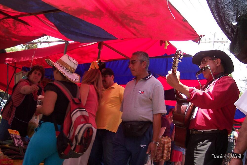 Market Day somewhere in Santiago by Daniela Weil