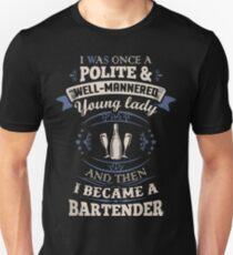 Funny bartender shirts Unisex T-Shirt