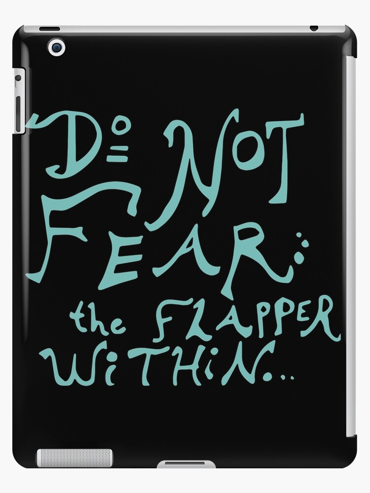 Do Not Fear the Flapper Within by Kiwi-Fur