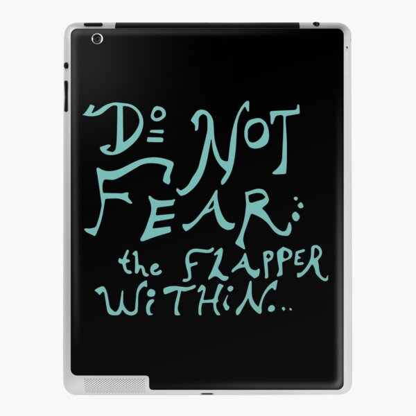 Do Not Fear the Flapper Within iPad Skin