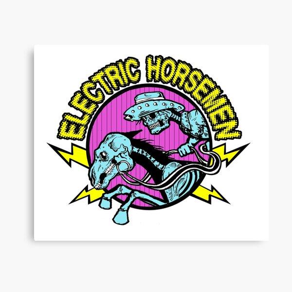 Electric Horsemen Logo Canvas Print