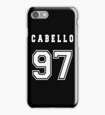 CABELLO - 97 // White Text iPhone Case/Skin