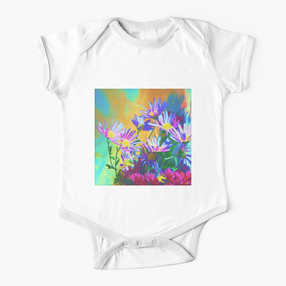 Flowers bloom Baby One-Piece