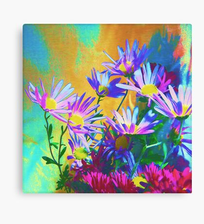 Flowers bloom Canvas Print