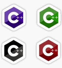 c++ color set  Sticker