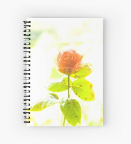 Beauty and the black spot Spiral Notebook
