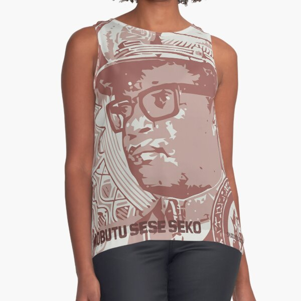 Mobutu lives Sleeveless Top