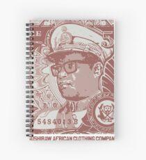 Mobutu lives Spiral Notebook