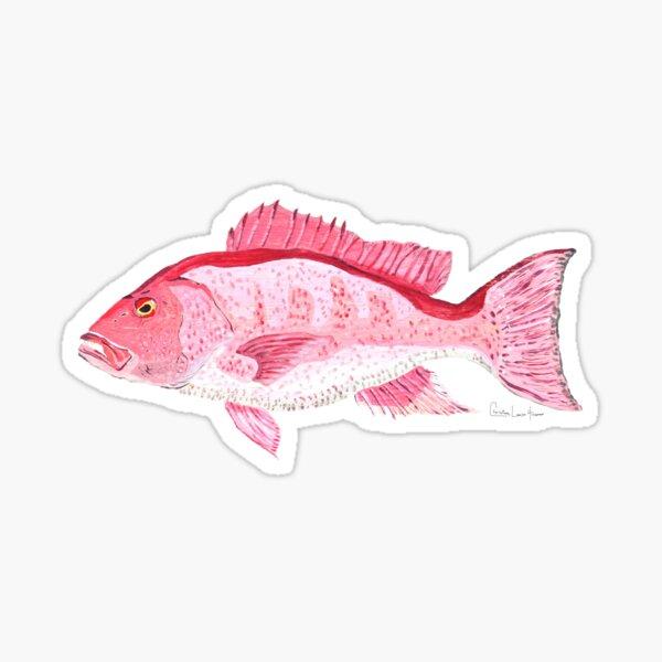 Red Snapper Sticker
