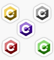 c # color set Sticker