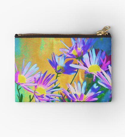 Flowers bloom Zipper Pouch