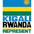 Kigali Rwanda, represent by kaysha